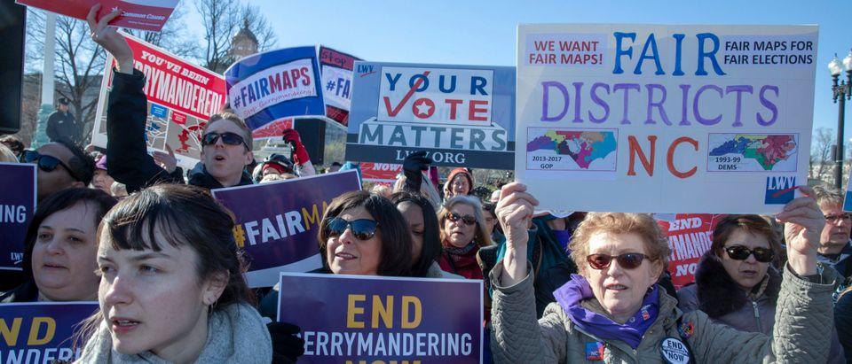 'Fair Maps' Rally Held As Supreme Court Hears Gerrymandering Case