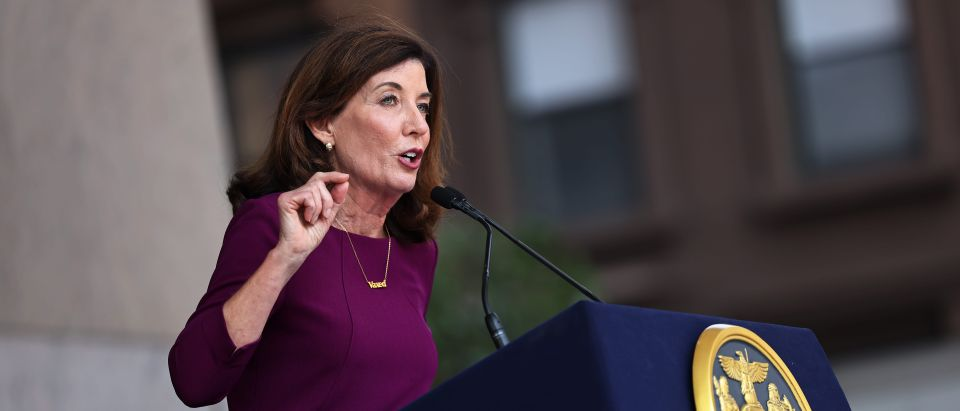 Governor Hochul Makes Special Announcement With State Senator Brian Benjamin