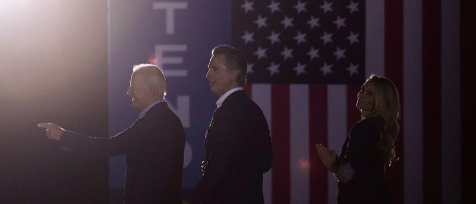 President Biden Campaigns For California Gov. Newsom In Recall Election
