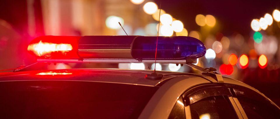 Police lights [Shutterstock/ArtOlympic]