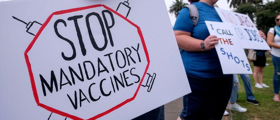US-HEALTH-VIRUS-VACCINE-DEMONSTRATION
