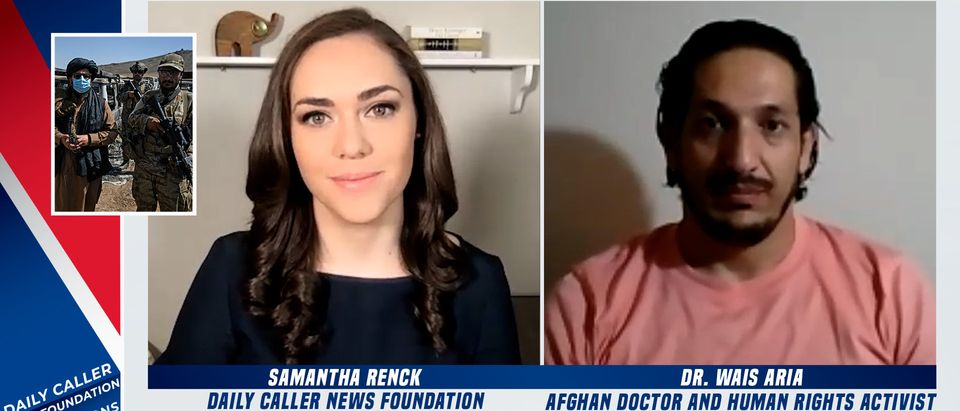 Dr. Wais Aria speaks with the Daily Caller News Foundation