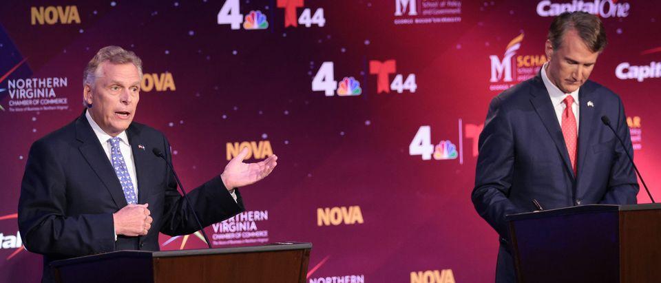 Candidates Participate In Final Debate For Virginia's Gubernatorial Race