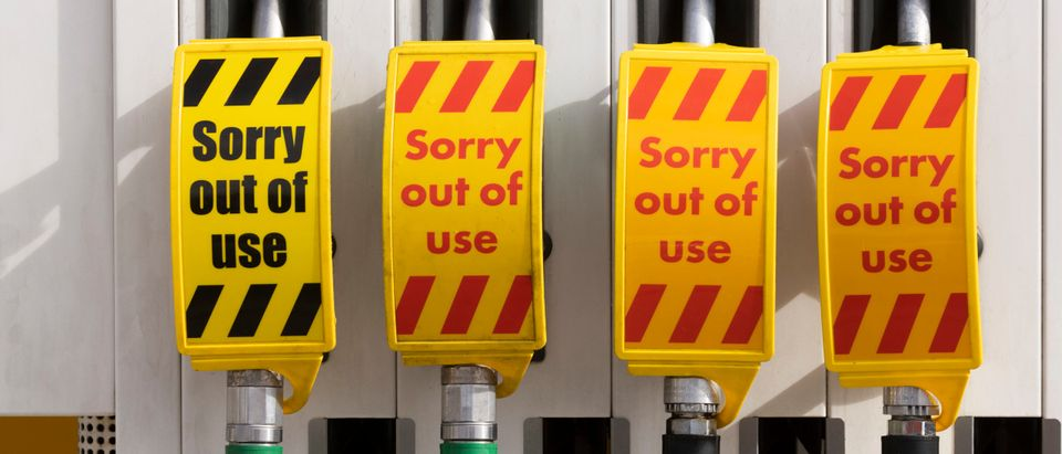 Petrol Still Running Short In London And South East England