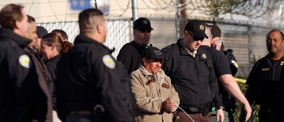 Maricopa County Sheriff Joe Arpaio Conducts An Immigration Raid