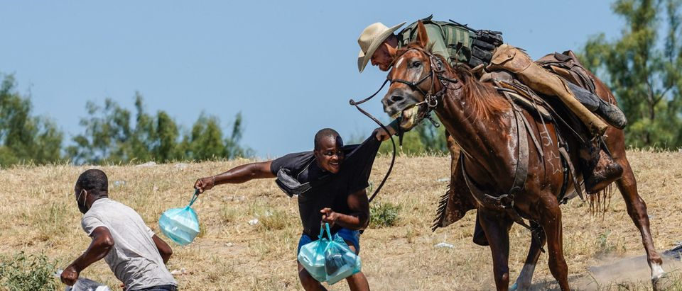 Haitian Border Patrol Getty