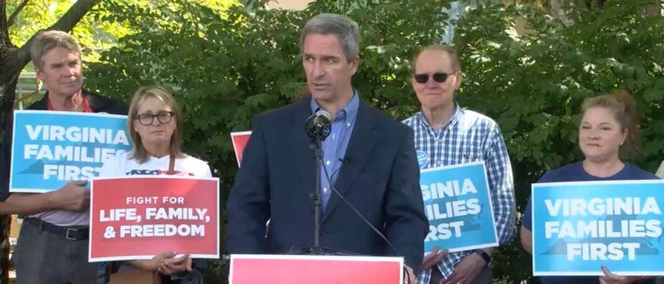 Ken Cucinelli Speaks At Virginia Rally