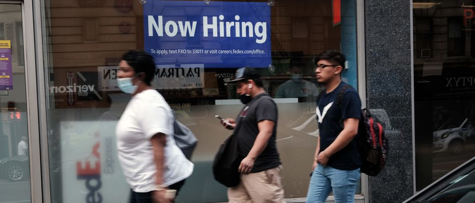 Weekly Unemployment Claims Fall To Pandemic Low