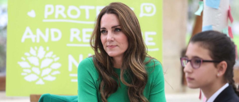*NO UK* Duke And Duchess Of Cambridge Visit Kew Gardens To Take Part In Generation Earthshot Event - POOL