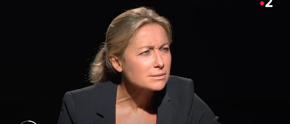 Anne-Sophie Lapix of France 2 TV