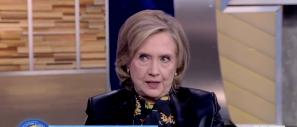 Hillary Clinton said she plans to remain involved in politics. (Screenshot ABC NEWS)