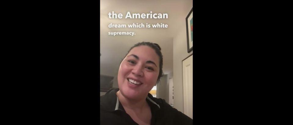 Alicia Busch Equity TikTok American Dream White Supremacy